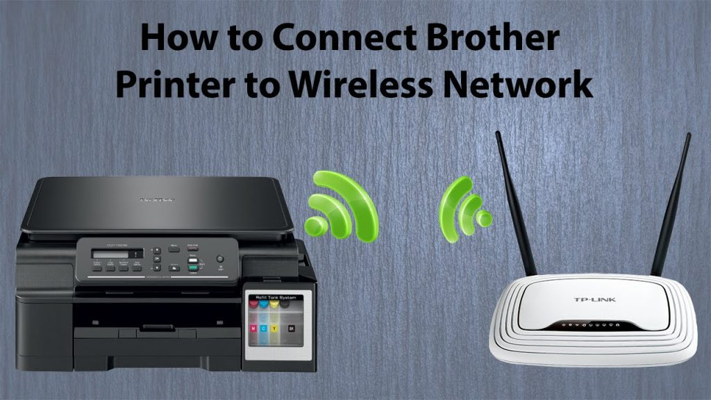 Brother Printer Connect To Wifi