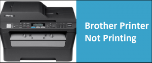 Brother Printer Not Printing