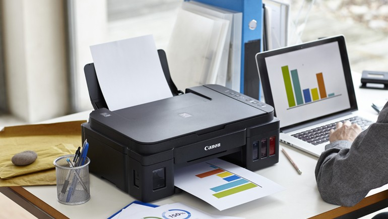 Canon printer set-up support