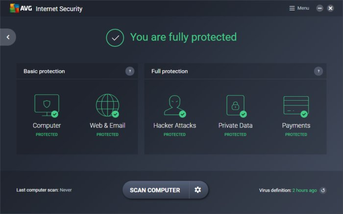 AVG Antivirus Offline Installer