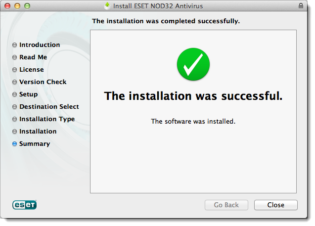 ESET Antivirus Mac