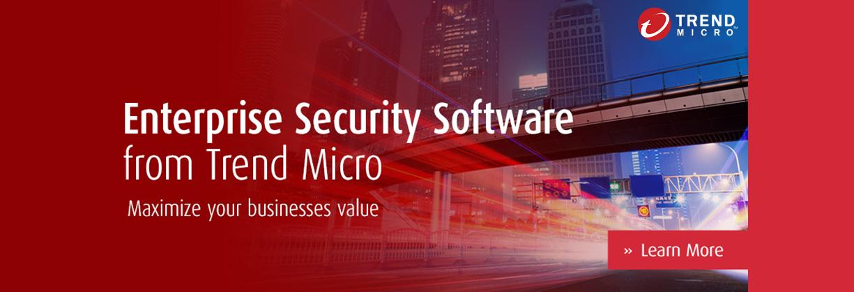 Trend Micro Enterprise Security suit