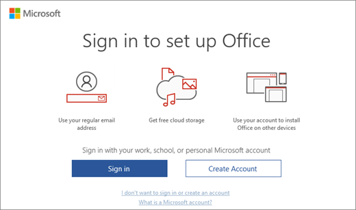Office 365 Activation Error