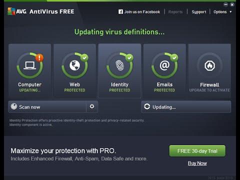 AVG Antivirus Not Updating