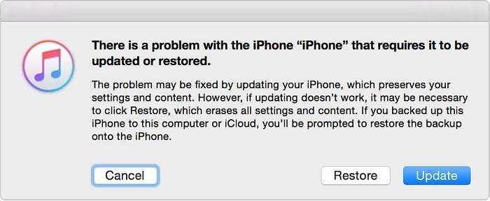 iphone Error Black Screen