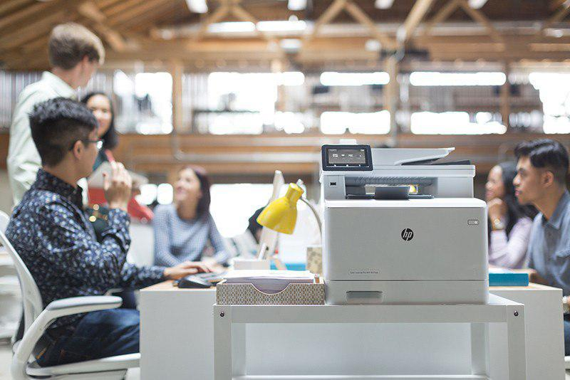 HP LaserJet M553n Laser Printer
