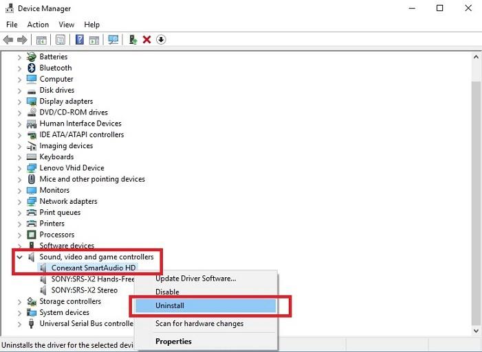 Download Lenovo sound/audio Driver