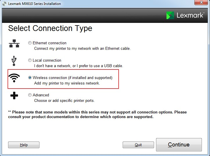 Connecting a Lexmark Printer to WiFi