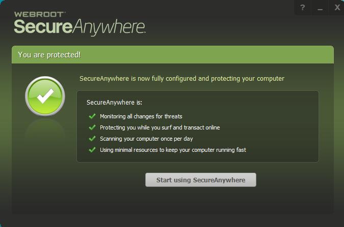 webroot secureanywhere antivirus uninstall