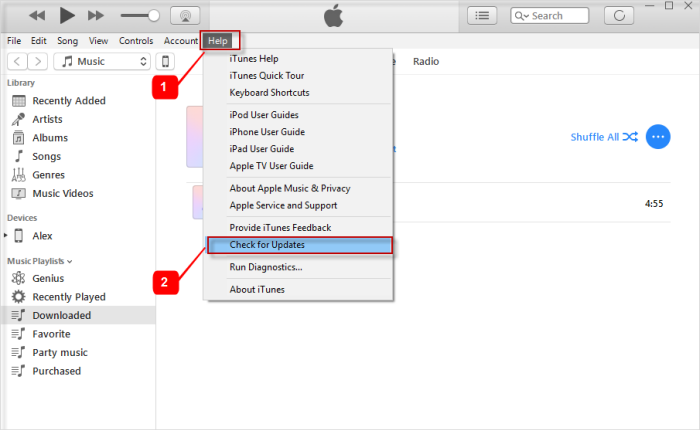 iTunes Error 3259