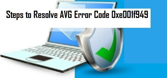 Avg Error Code 0xe001f949