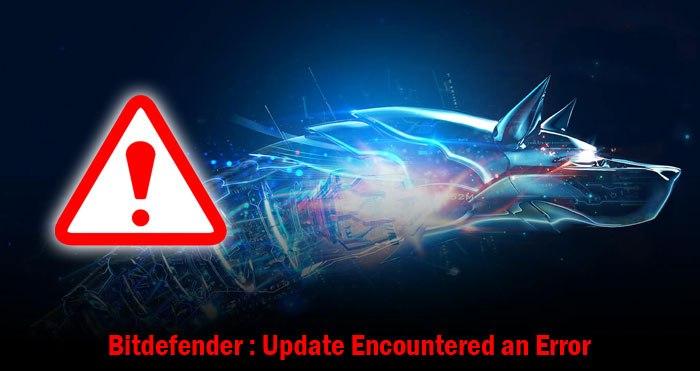 bitdefender update failed