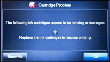 Lexmark Printer Cartridge Problem