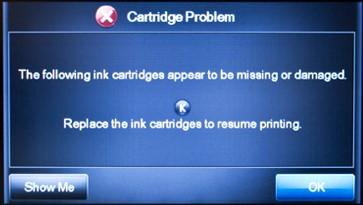 Lexmark Printer Cartridge Problem