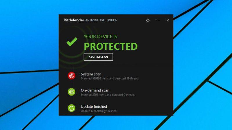 Bitdefender Antivirus Free