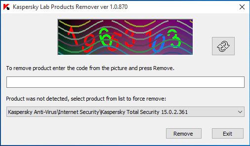 Kaspersky Total Removal Tool