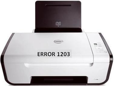 Lexmark Printer Error 1203
