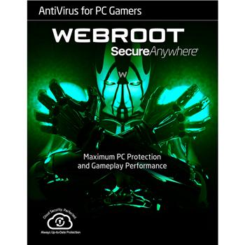 Webroot Antivirus for PC Gamers