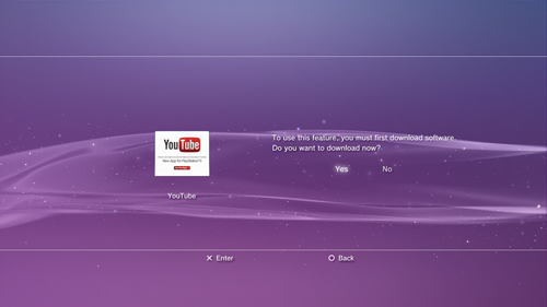 youtube.com/activate on ps3