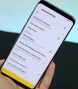 Samsung Mobile Blinking Problems