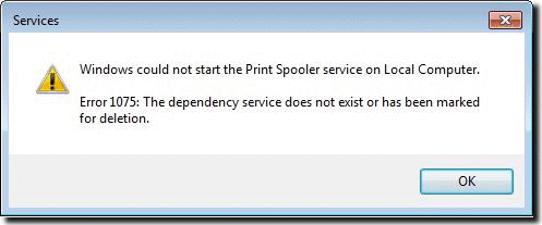 Lexmark Printer Spooler Problem