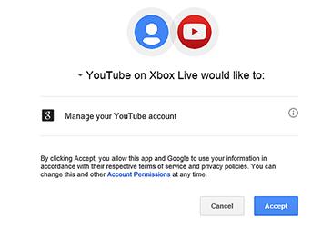 youtube.com/activate code xbox one