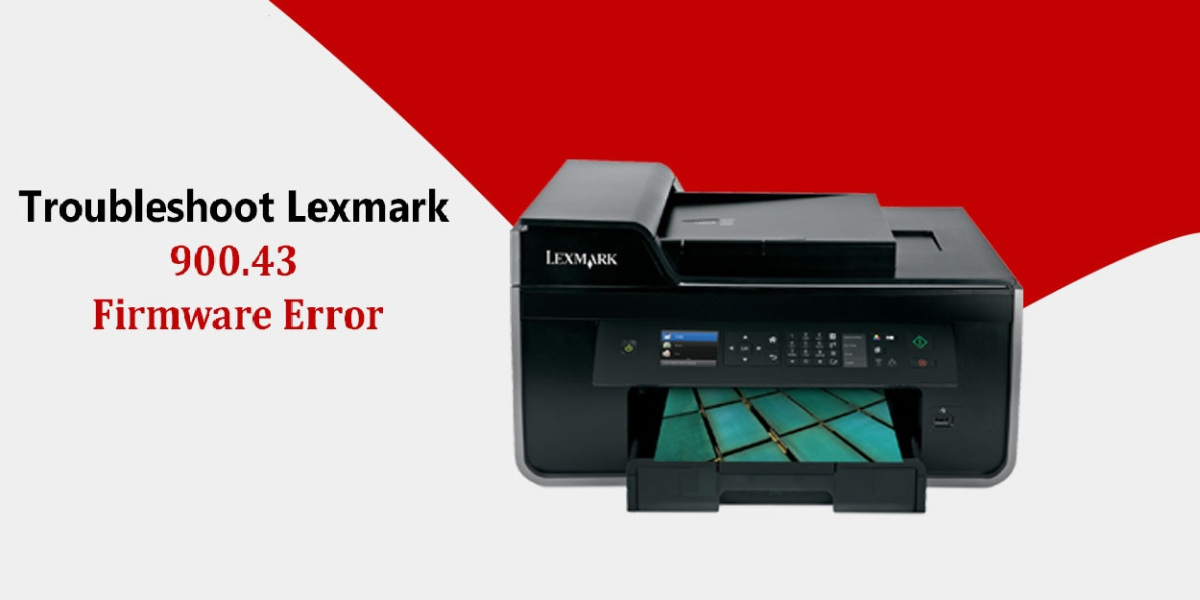 Lexmark Printer Error Code 900.43