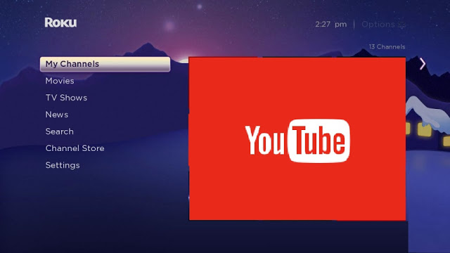 youtube com/activate roku |