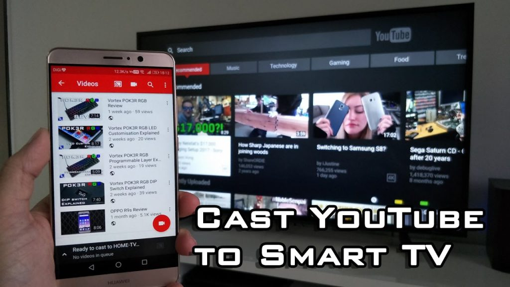youtube.com/activate smart tv