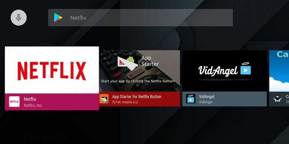 Netflix for Android TV Box