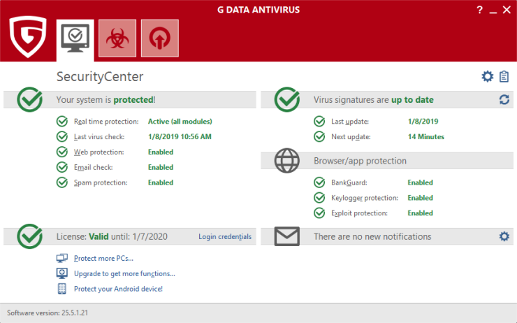 Download G Data Antivirus