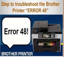 Brother Printer error 48