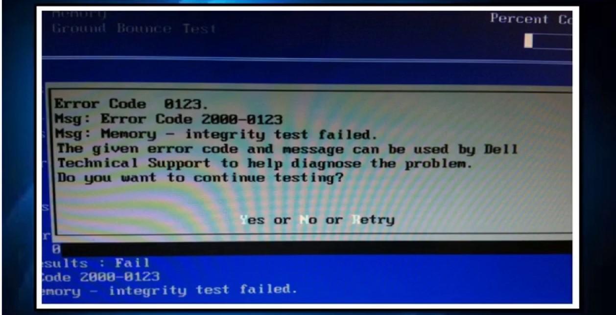 Dell Printer Error 0123