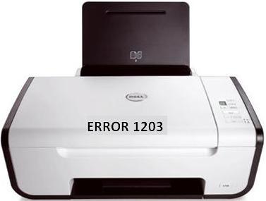 Dell Printer Error 1203