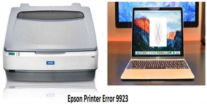 Epson Error Code 9923