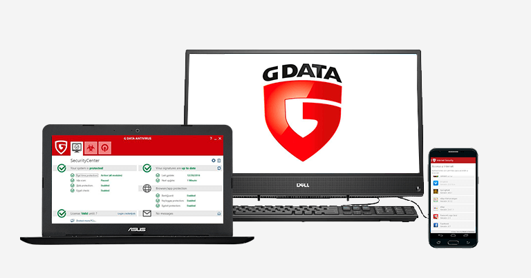 Uninstall G Data Antivirus
