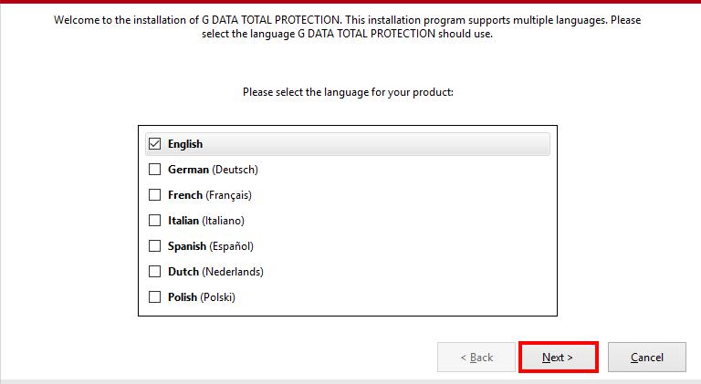 Download G Data Antivirus