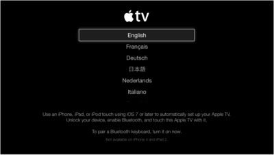 Netflix Error Apple TV