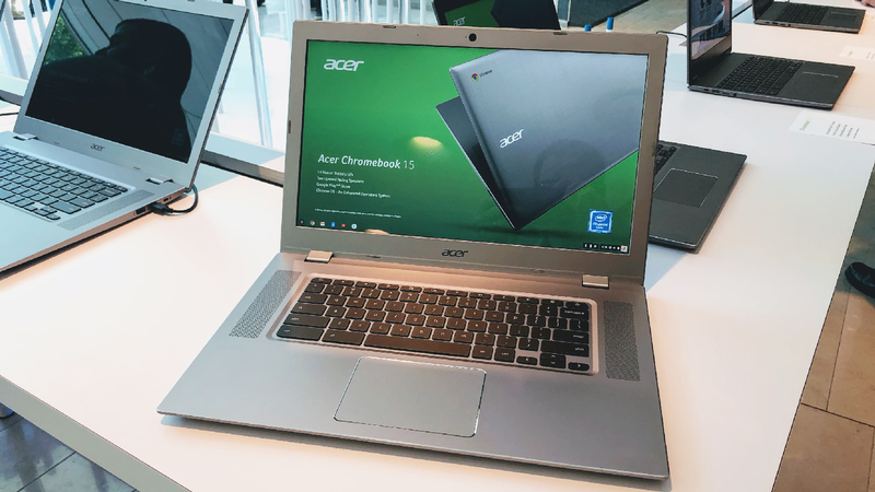 Acer Chromebook 15 black screen