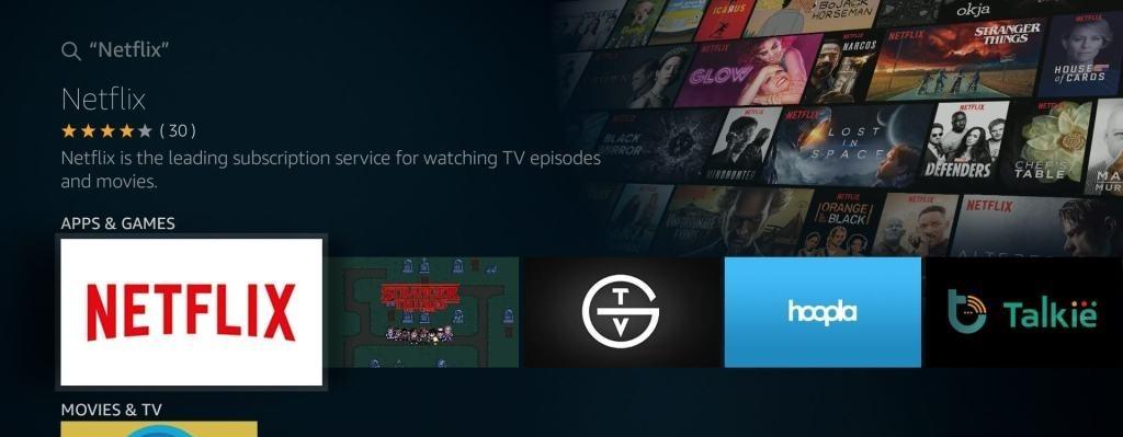 Netflix on Firestick