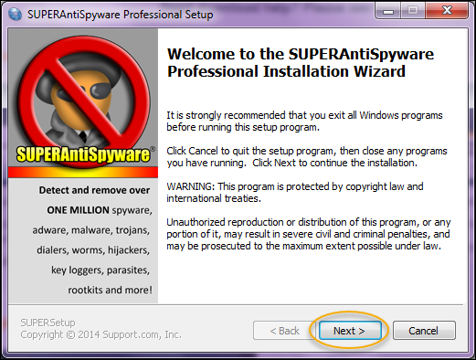 Download Free Antivirus SuperantiSpyware