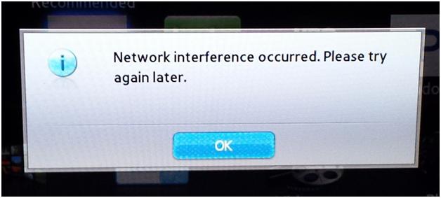 Samsung Smart TV Error Code 012