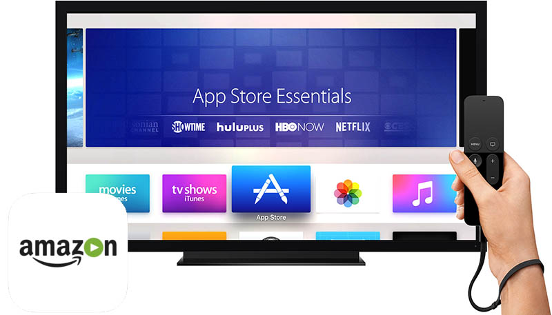 Amazon prime Apple TV