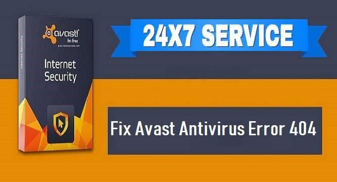 Avast Antivirus Error 404