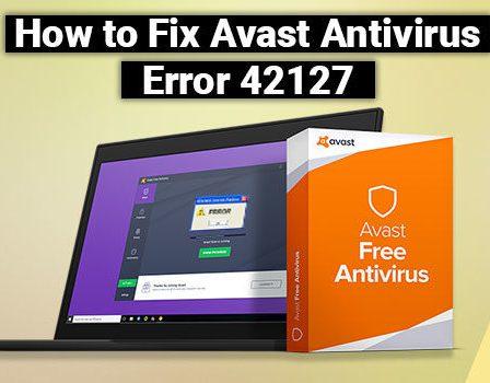 Avast Error 42127