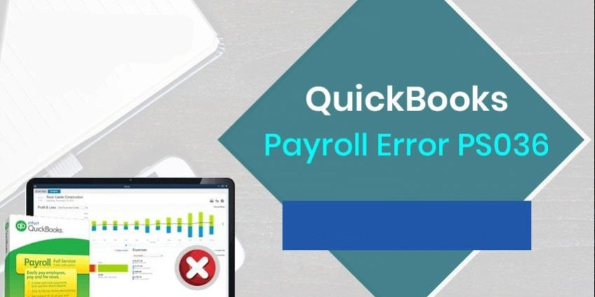 Quickbooks Error ps036