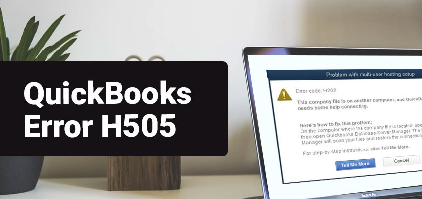 Quickbook Error h505