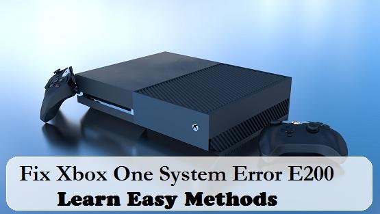 Xbox Error e200