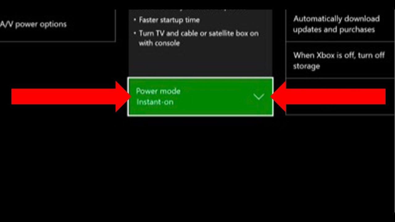 Xbox One error code e105