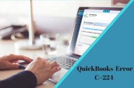 Quickbooks Error C 224